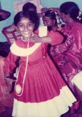 ca. 1989: Chandni in den 80ern