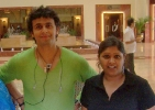 03.04.2006: Chandni und Sänger Sonu Nigaam