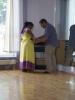 HR-Dreh: Beim Tanzkurs in Griesheim - Mikrofon Check