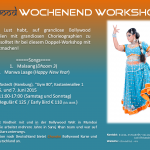 Juni Wochenend-Workshop mit Chandni in Hamburg